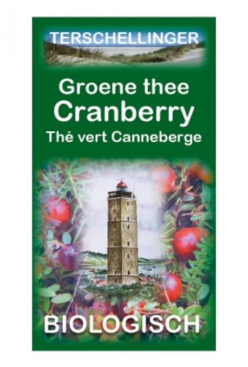 Groene thee - cranberry