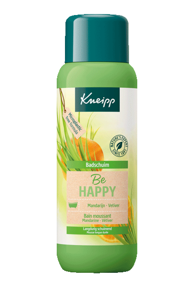 Badschuim - Be Happy - Mandarijn 400 ml