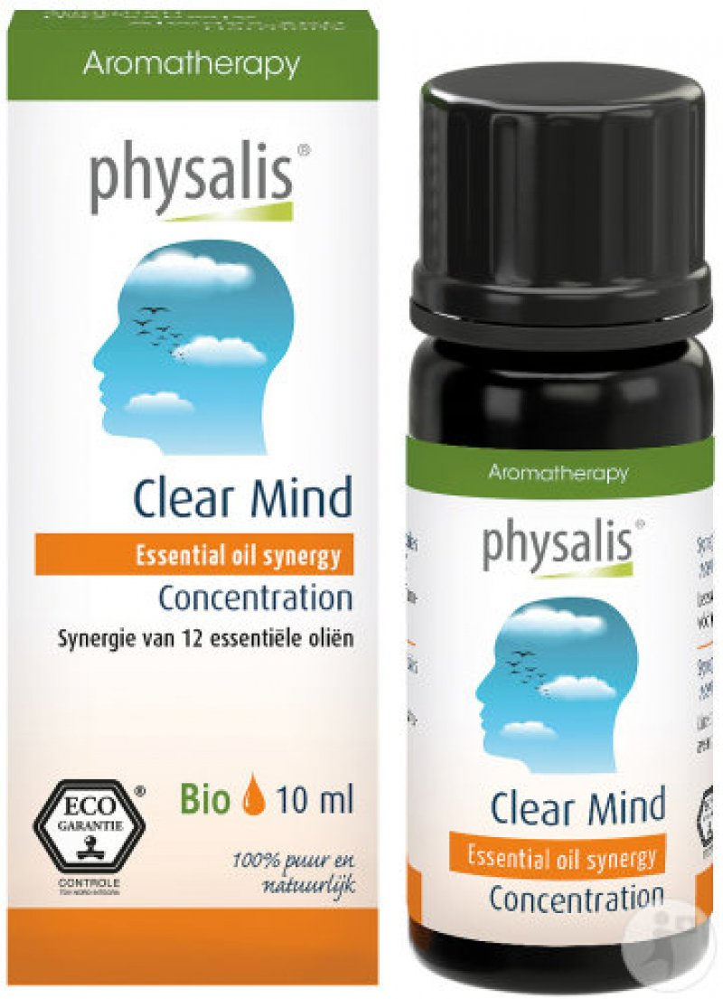 Clear mind etherische olie 10 ml