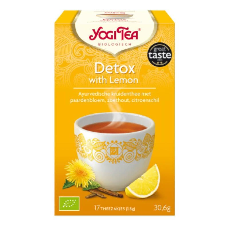 Yogi Detox with Lemon