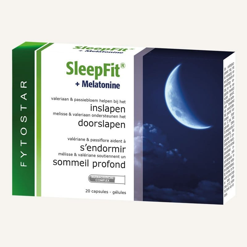 Sleep FIt + Melatonine - 20 caps