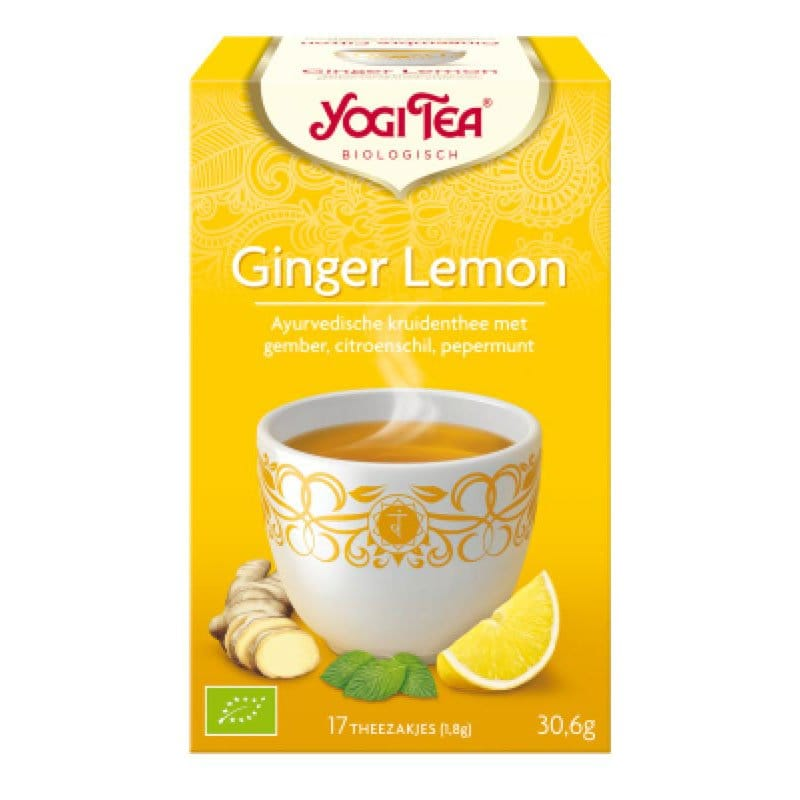 Yogi Ginger Lemon
