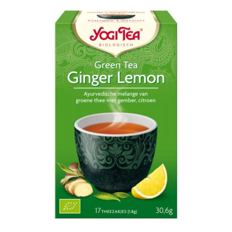 Yogi Green tea - Ginger Lemon