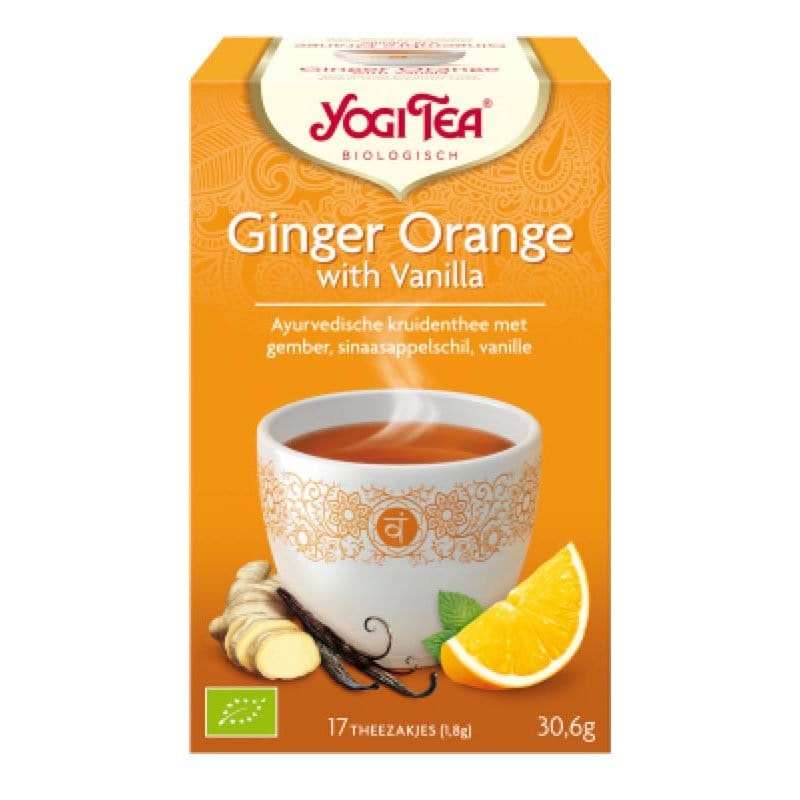 Yogi Ginger Orange Vanilla
