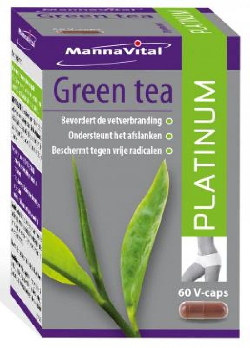 Mannavital - Green tea Platinum