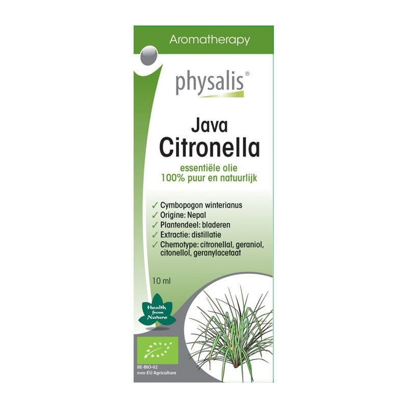 Physalis - Etherische olie: Java Citronella