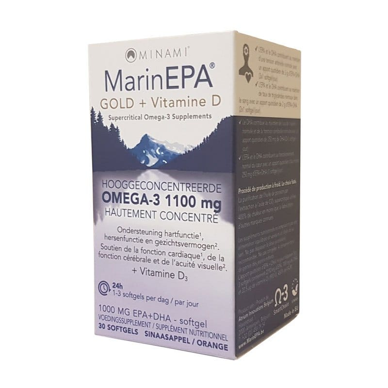 MarinEPA Gold + Vitamine D
