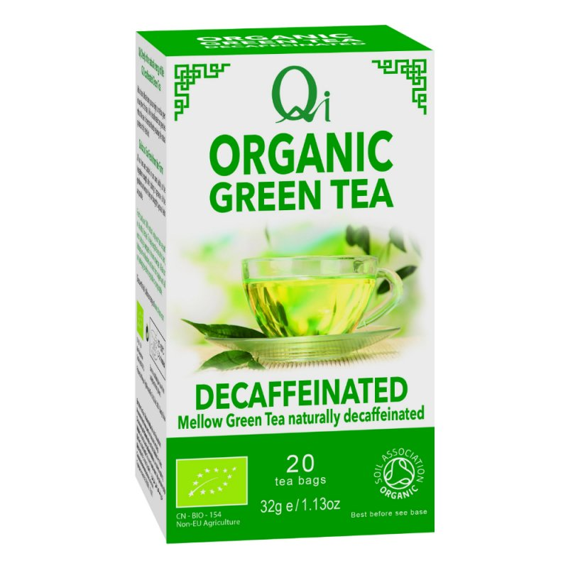 Organic Green Tea Decafeïne