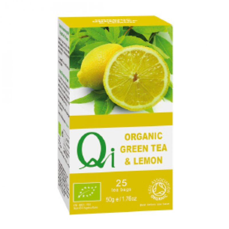 Organic Green Tea & Lemon