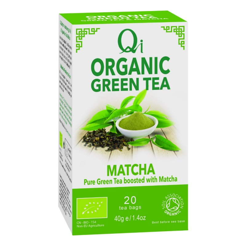Organic Green Tea & Matcha