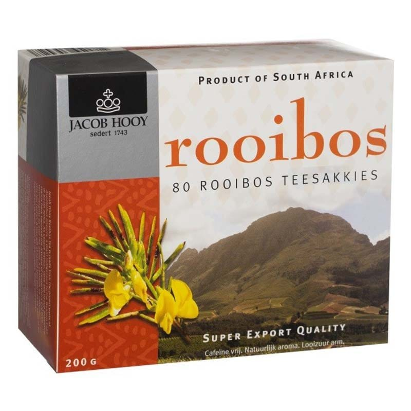 Jacob Hooy - Rooibos naturel - 80st