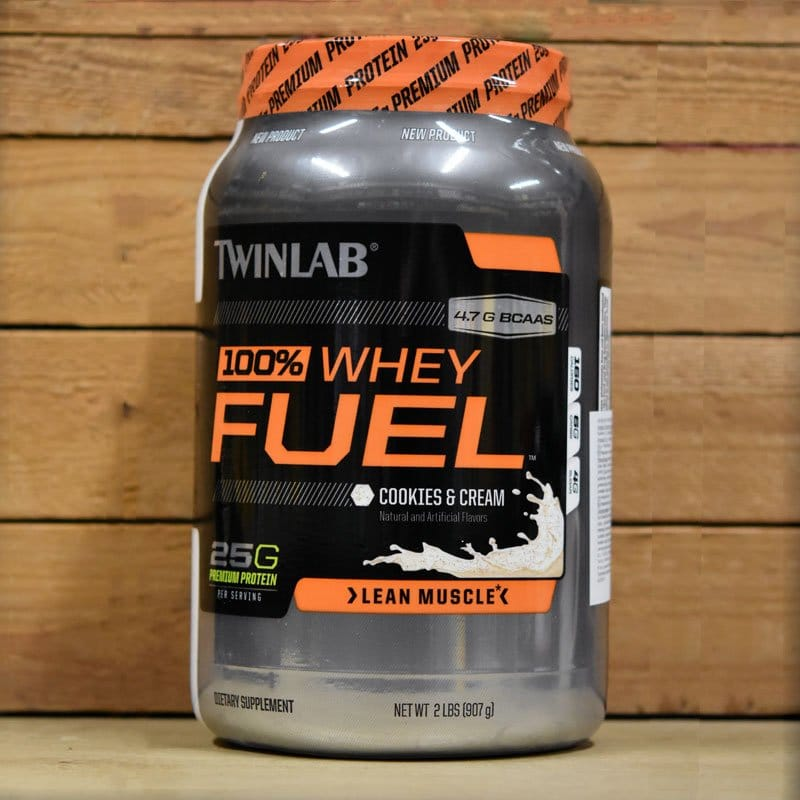 100% Whey Fuel double chocolate