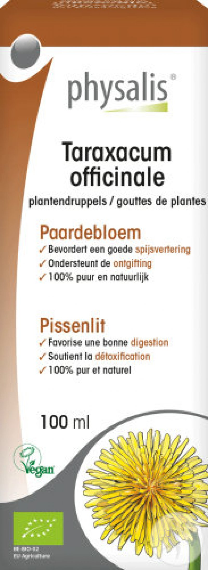 Taraxacum officinale (paardenbloem) 100ml