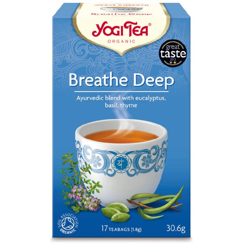 Yogi Breathe Deep