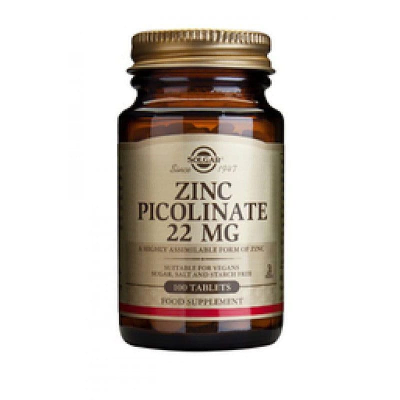 Solgar - Zinc Picolinate 22 mg