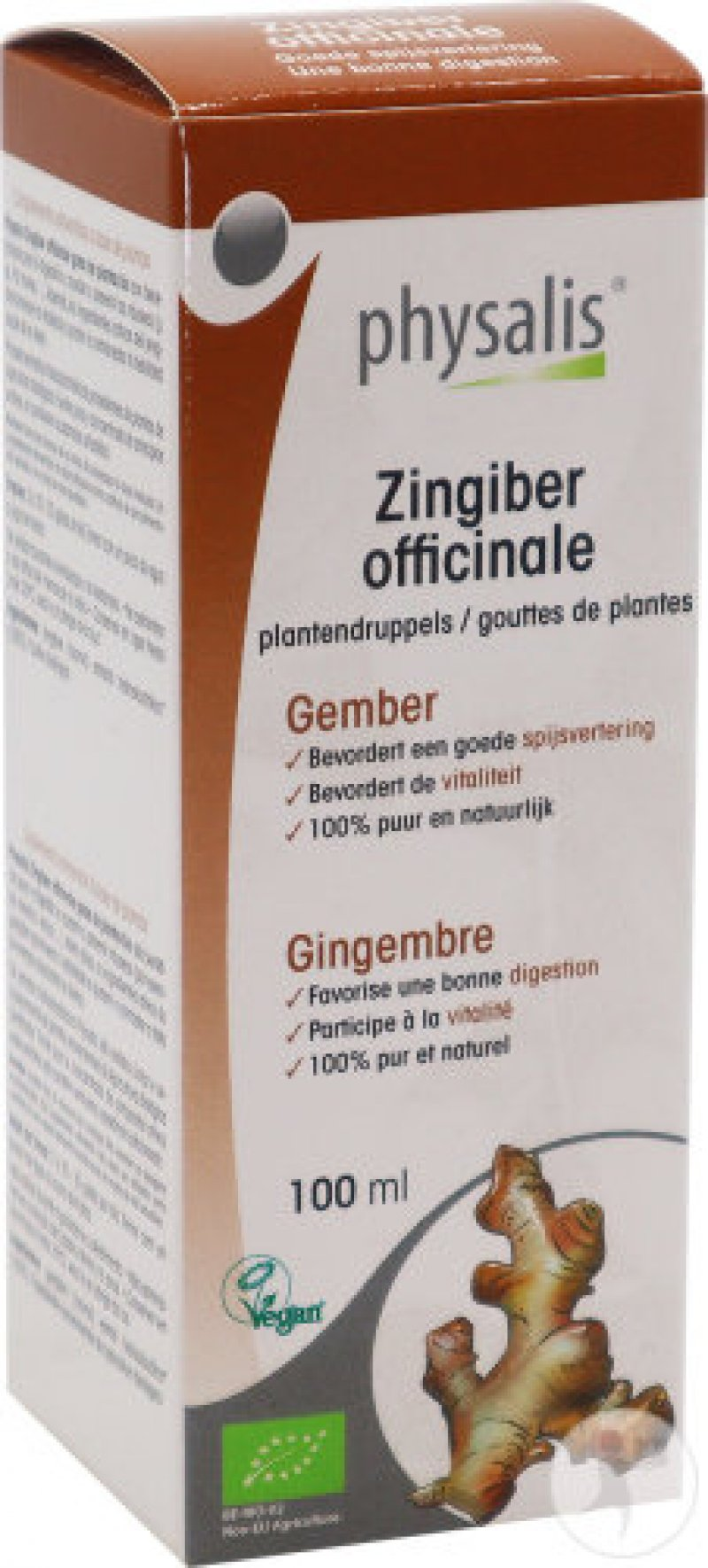 Zingiber Officinale (Gember) 100ml