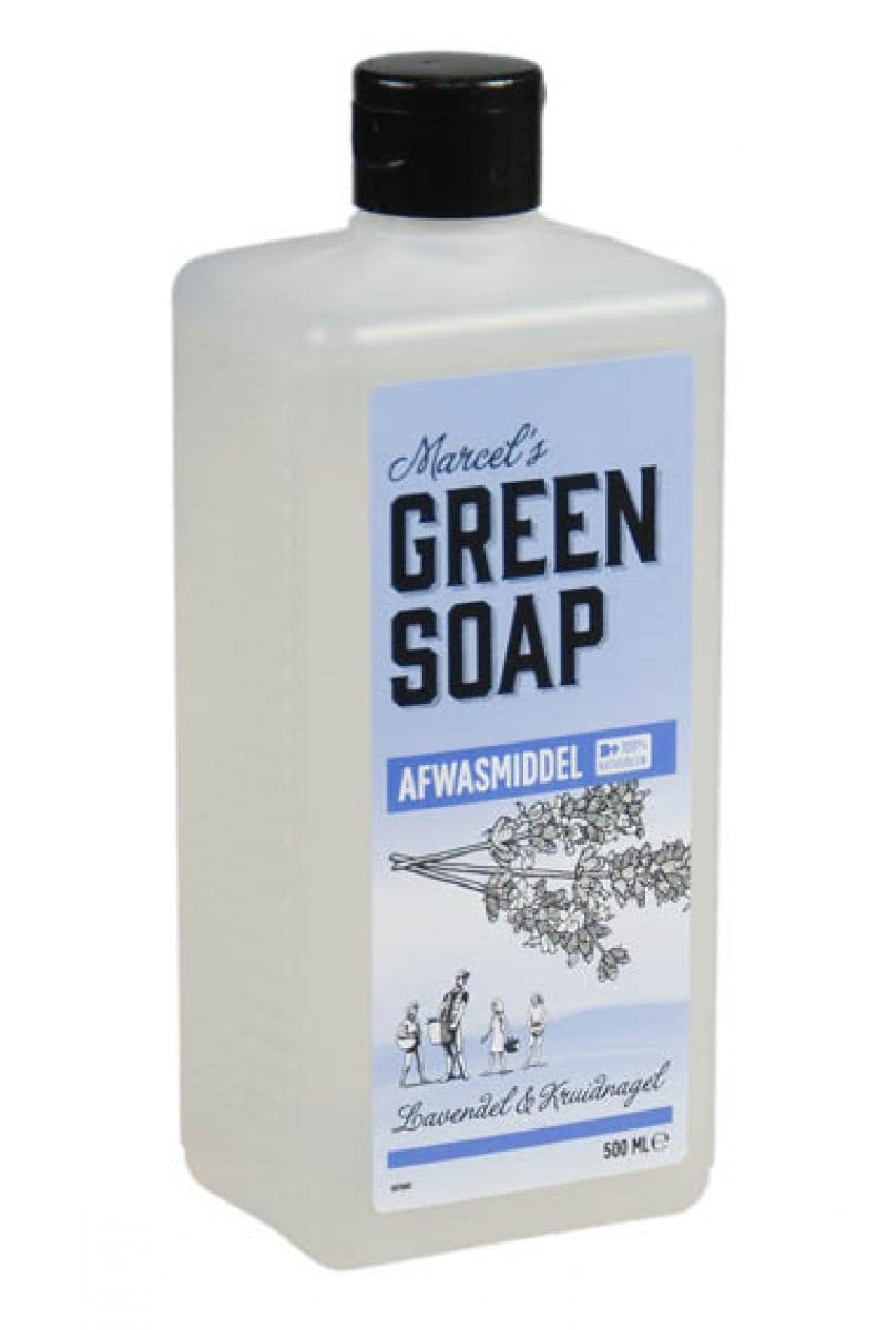 Marcel's Green Soap - Afwasmiddel: Lavendel & Kruidnagel - 500 ml