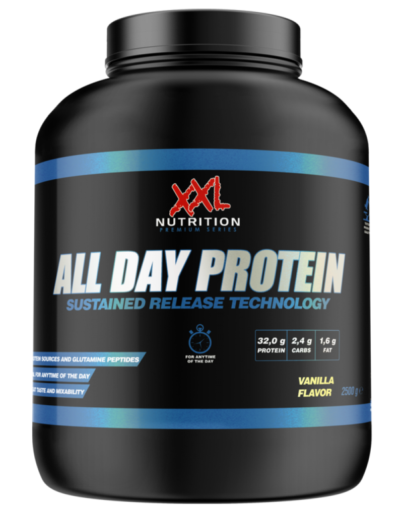 all day protein chocolade 2500 g