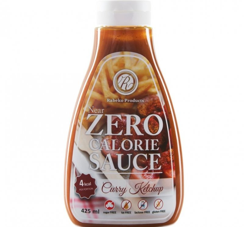 Curry Ketchup Near Zero calorie sauce 425ml
