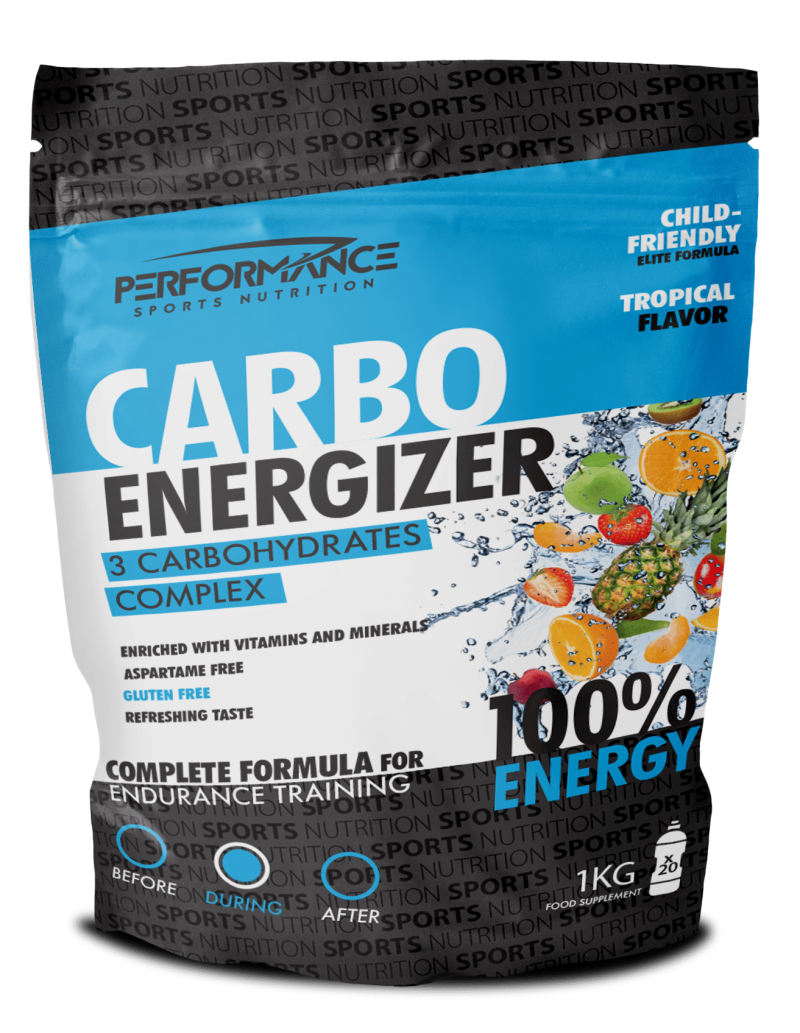 Carbo Energizer Tropical 1000g