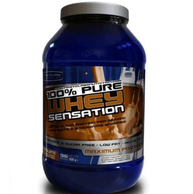 Whey sensation 2000gr Chocolade