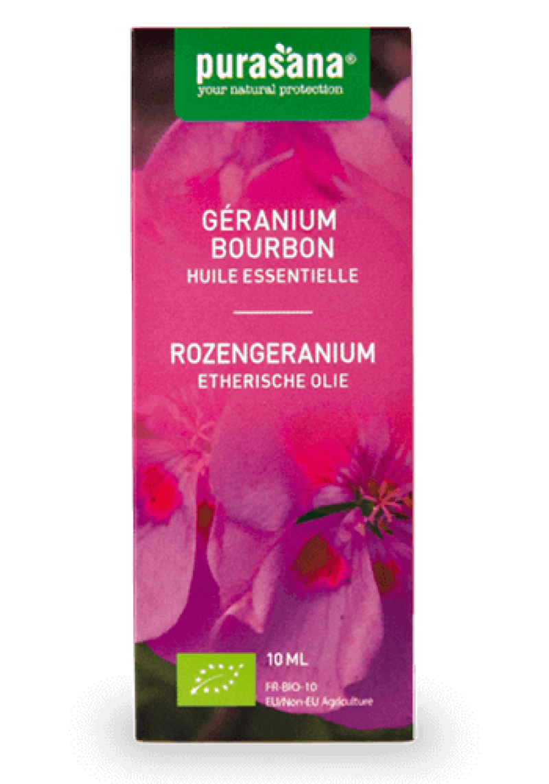 Rozengeranium etherische olie 10ml