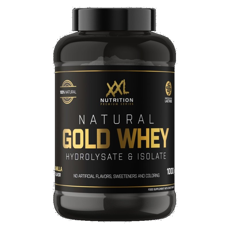 Natural Gold Whey Chocolade 1000gr