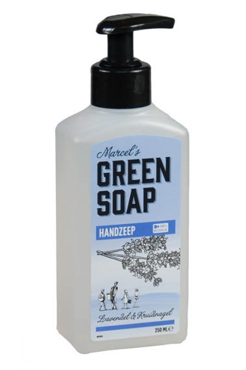 Marcel's Green Soap - Handzeep: Lavendel & Kruidnagel - 250 ml