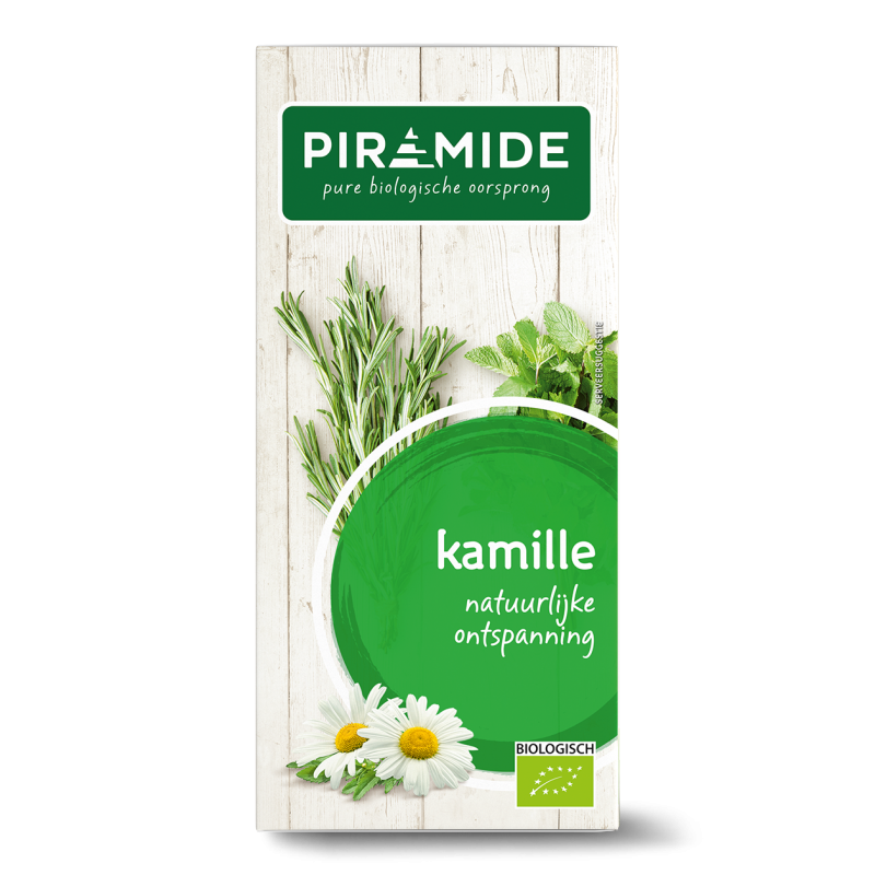 Traditionele thee: Kamille