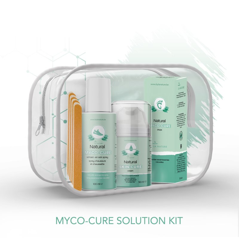 Mycosenagels behandelen: Natural Solution KIT