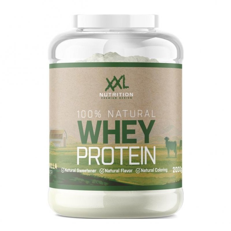 100% Natural Whey Proteïn Vanille 750g