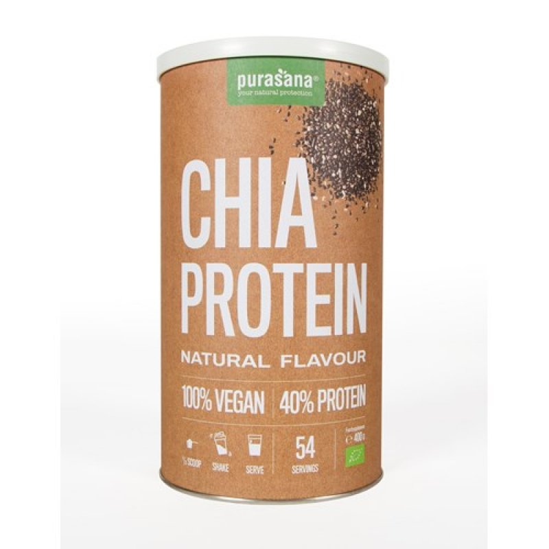 chia protein natural flavour 400 g