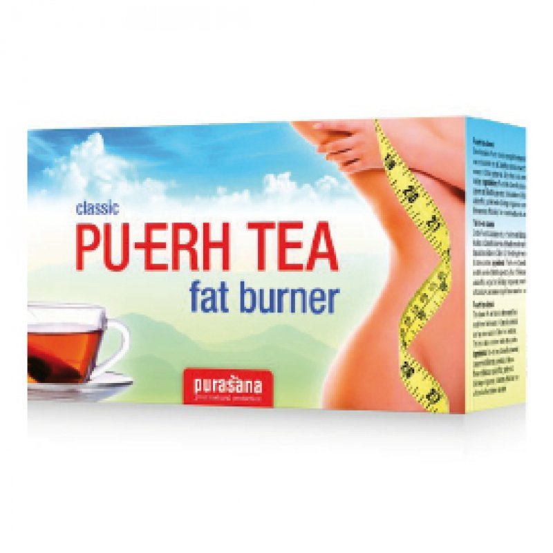Pu-Erh Thee - Fat burner - 96 zakjes