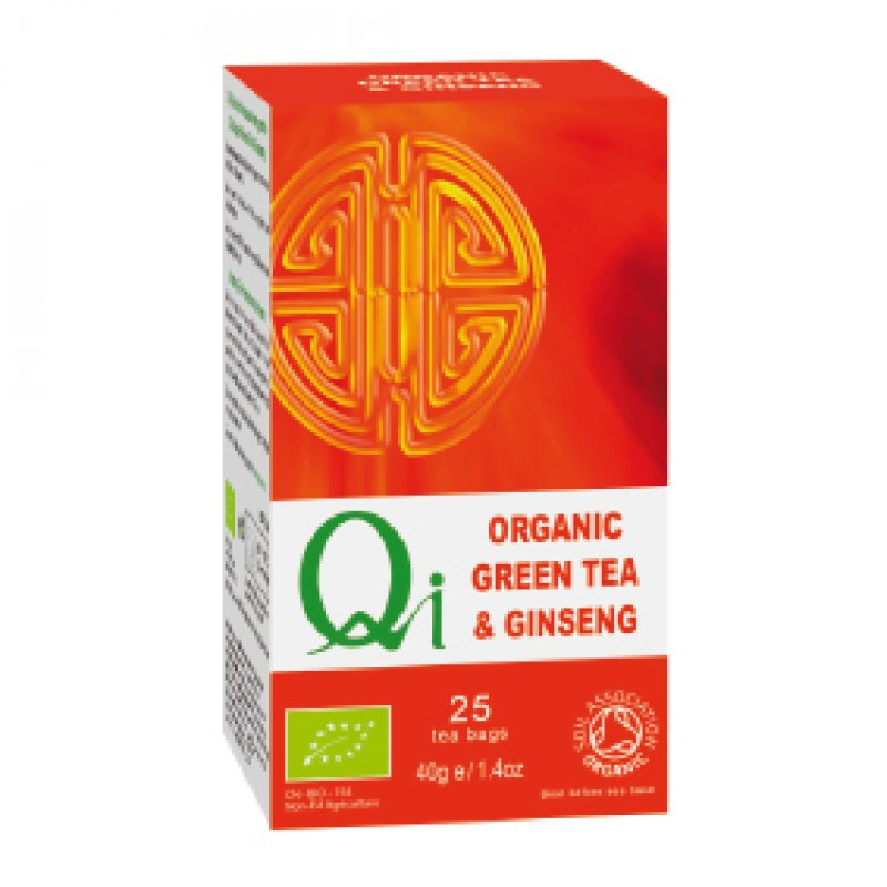 Organic Green Tea & Ginseng
