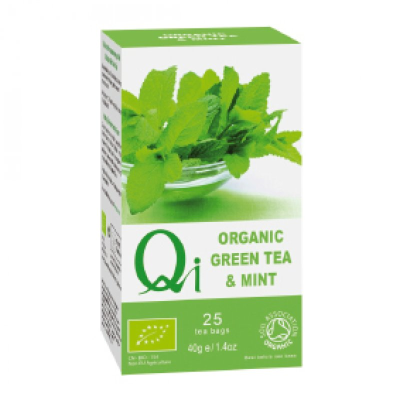 Organic Green Tea & Mint