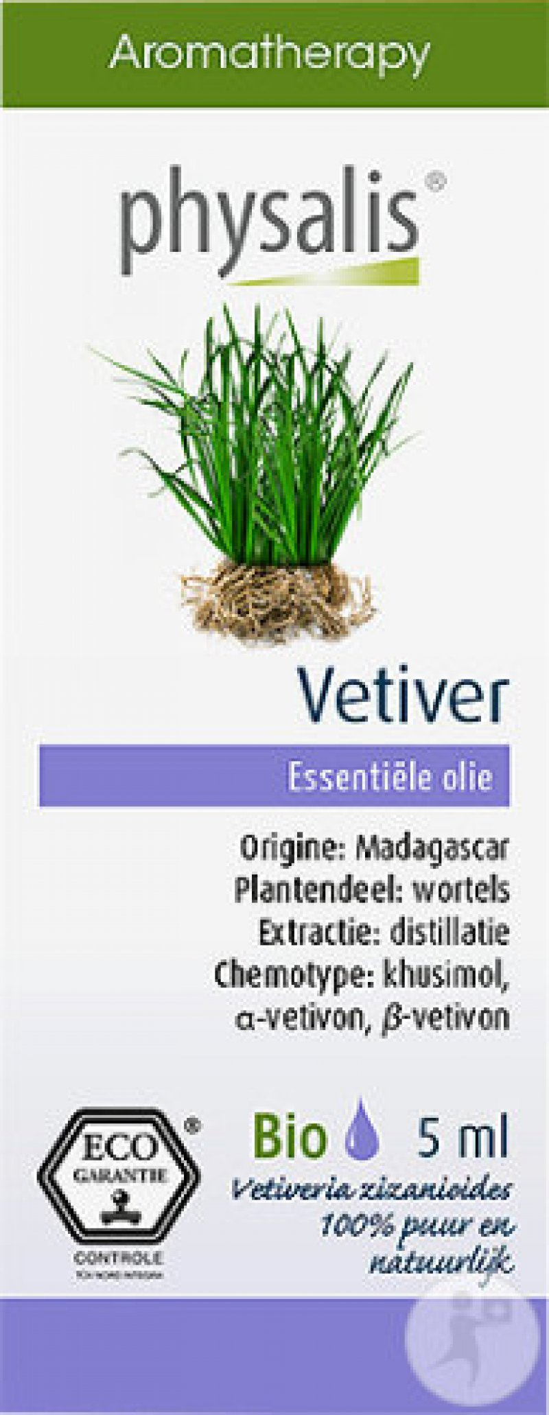 Vetiver etherische olie 5 ml
