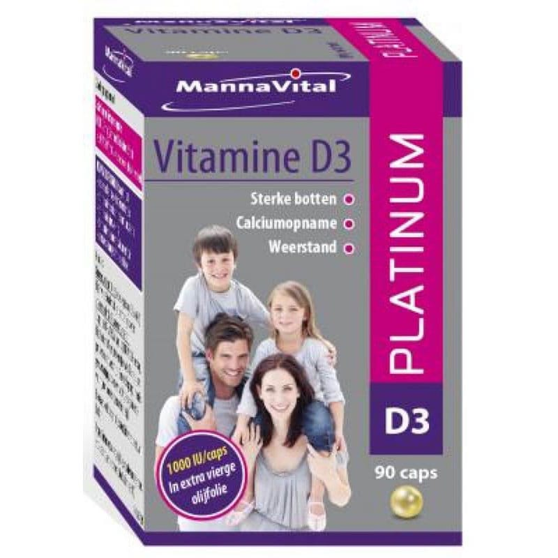 Vitamine D3 platinum Pearls