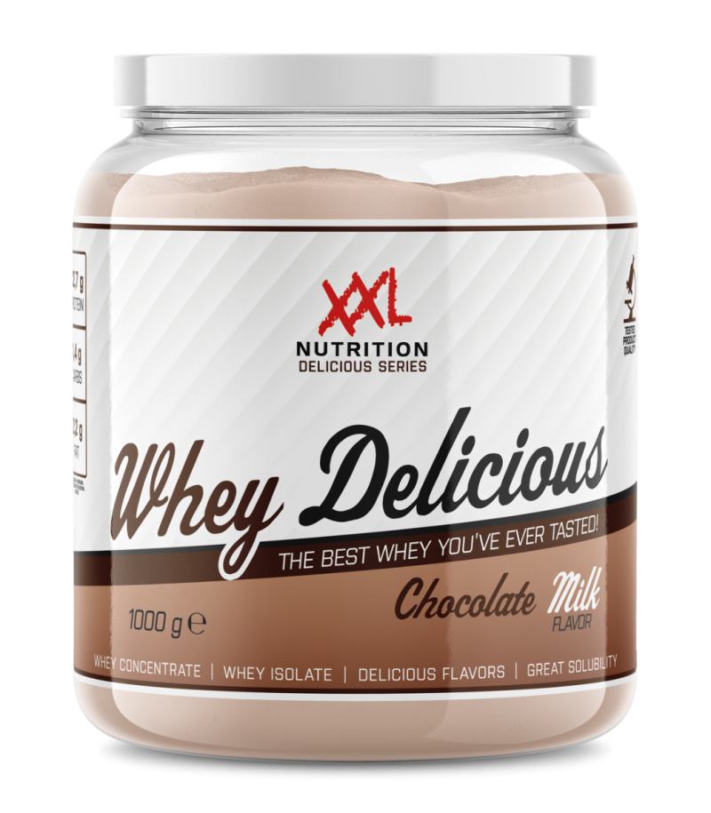 whey delicious protein chocolade melk 2500g