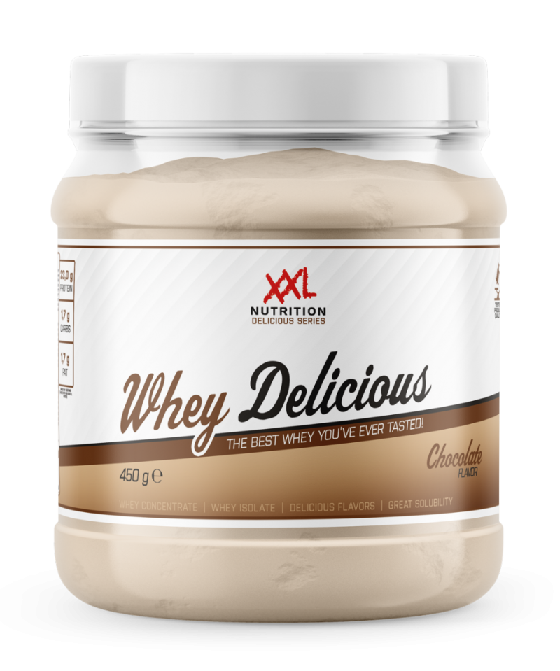 whey delicious protein chocolade 2500