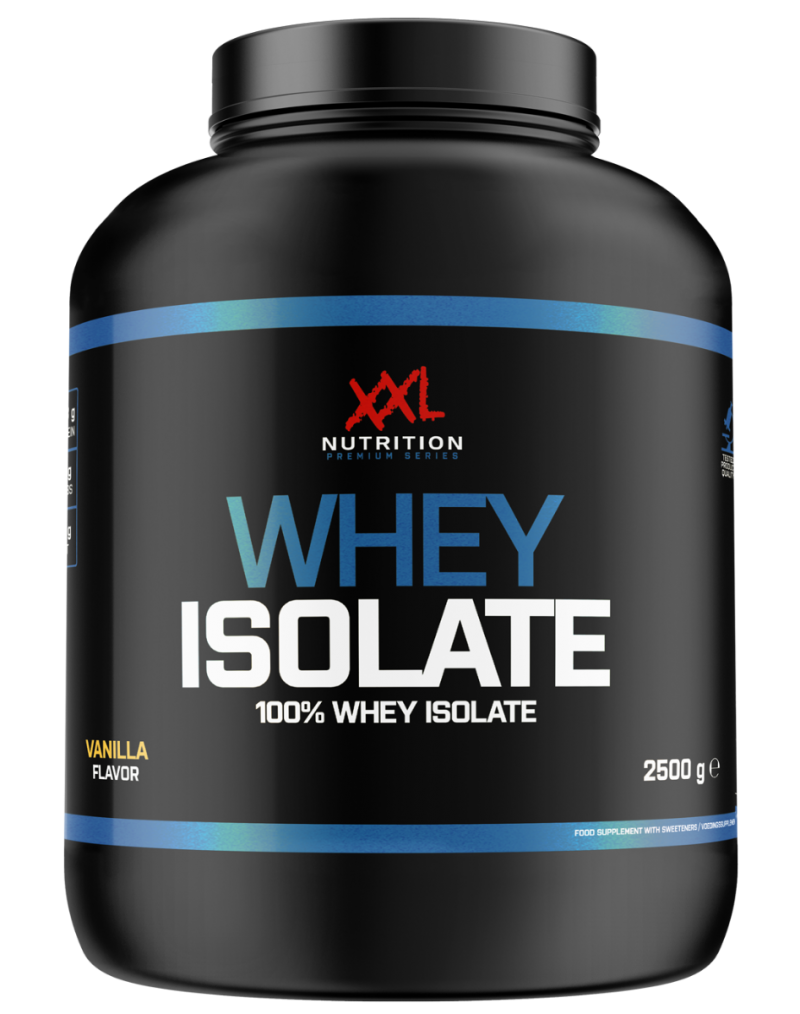 whey isolaat chocolade  2500 g