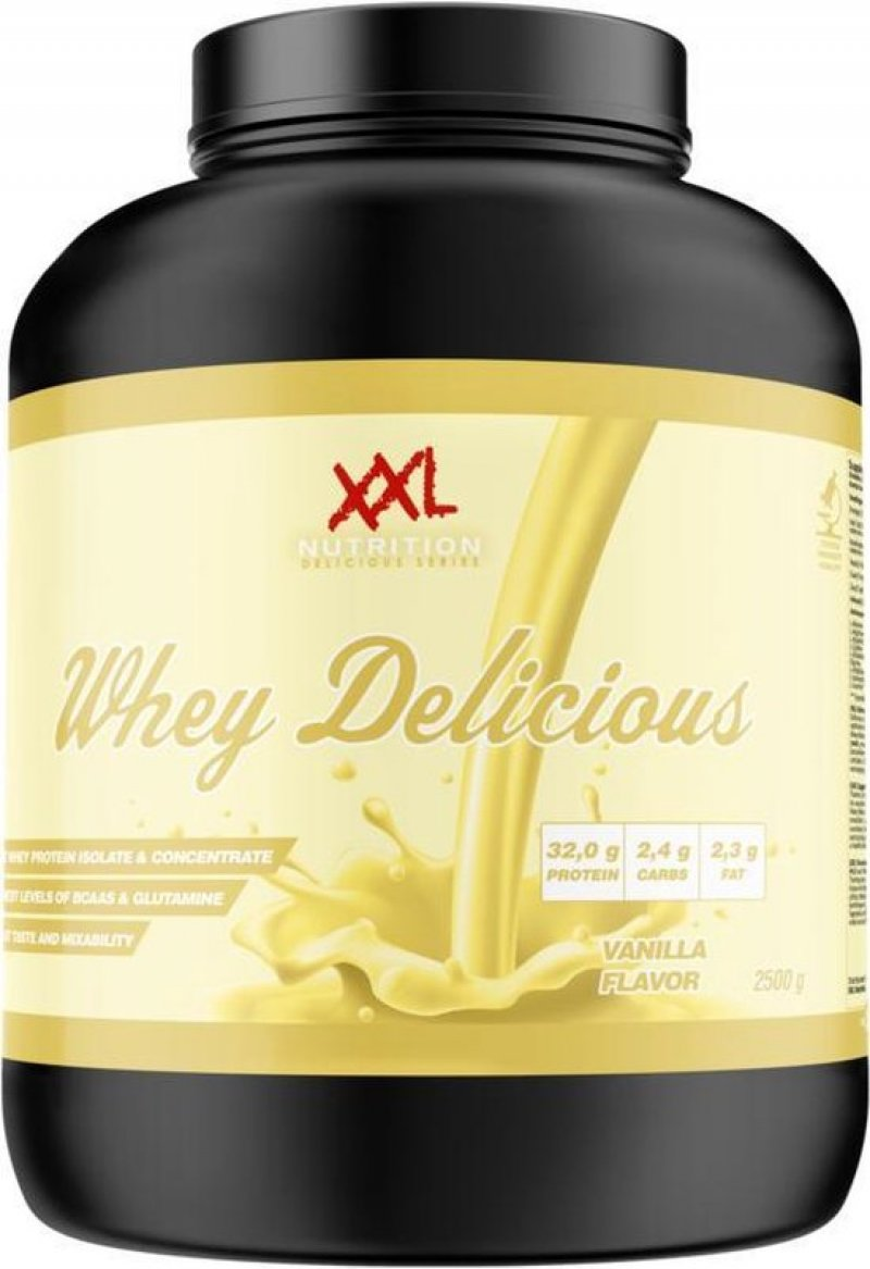 whey delicious protein vanille 2500g