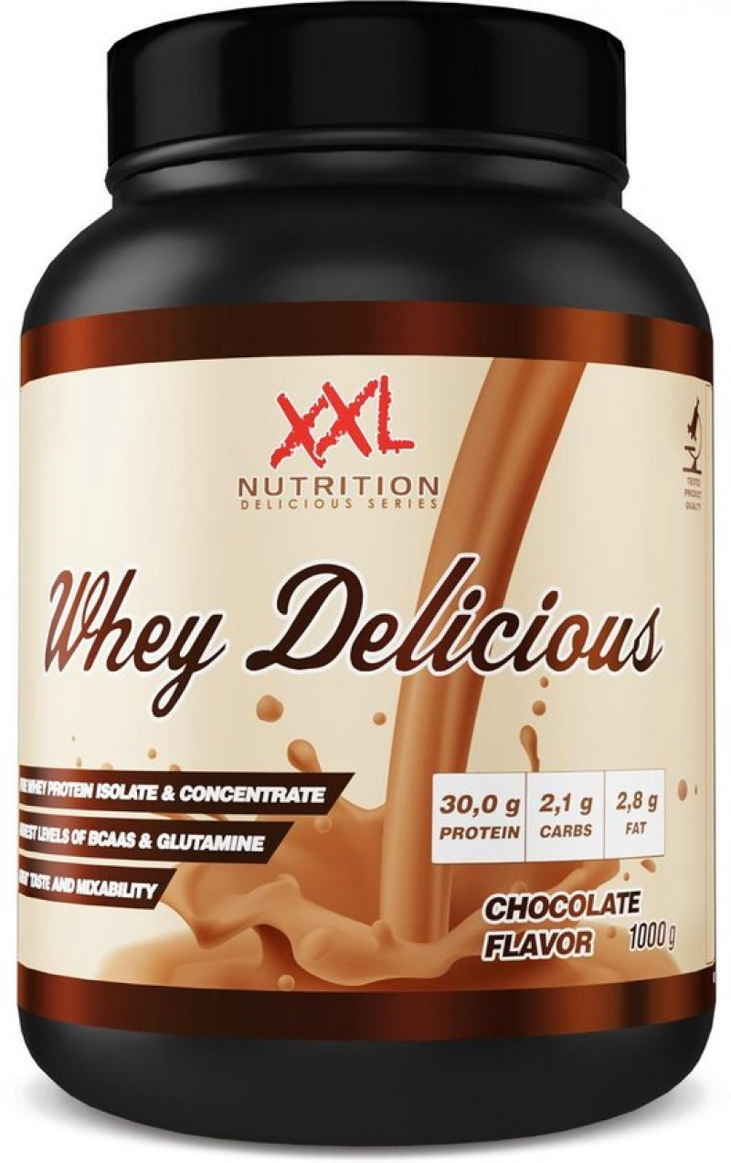 whey delicious protein chocolade 2500g